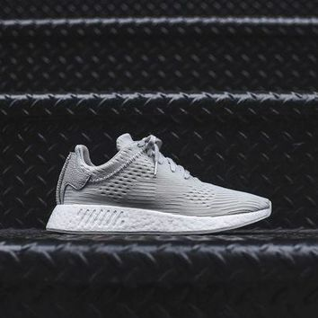 Adidas By Wings + Horns Nmd Pk - Ash / White - Beauty Ticks