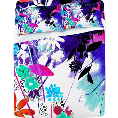 DENY Designs Home Accessories | Holly Sharpe Captivate Floral Sheet Set