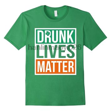 Drunk Lives Matter T-Shirt St Patricks Day Drinking Beer Tee