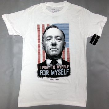 Netflix House Of Cards FRANK UNDERWOOD QUOTE T-Shirt NWT Licensed & Official