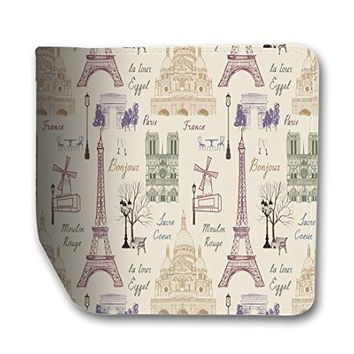 Travel Paris London Rome Leather Business Passport Holder Protector Cover_SUPERTRAMPshop