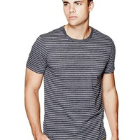 Jett Striped Tee at Guess