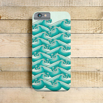 Ocean Retro Vibes - iPhone 6, 5/5c case, iPhone 4/4s case, Samsung Galaxy S3/S4