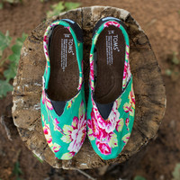 Bright Floral TOMS (Women)