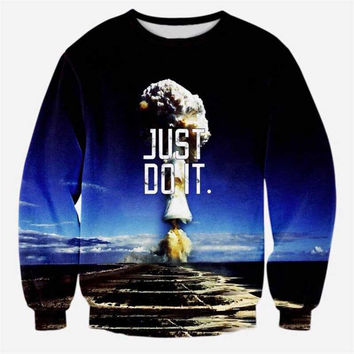 JUST DO IT Atom Bomb Sweater