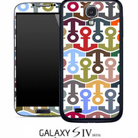 Anchor Collage Pattern Skin for the Samsung Galaxy S4, S3, S2, Galaxy Note 1 or 2