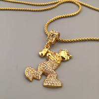 Jewelry New Arrival Shiny Gift Stylish Hot Sale Fashion Hip-hop Club Necklace [6542761155]