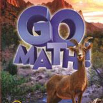 GO Math! SBAC Test Prep Teacher Edition Grade 6