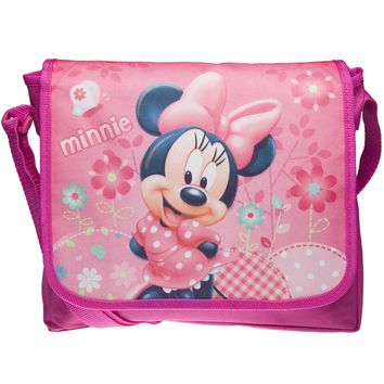 Minnie Mouse - Floral Pose Mini-Messenger Bag
