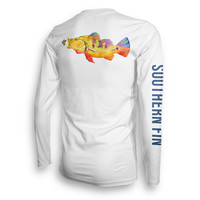 Performance Fishing Shirt Long Sleeve (Peacock Bass)