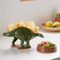 Nachosaurus Chip Holder + Dip Bowl | Urban Outfitters