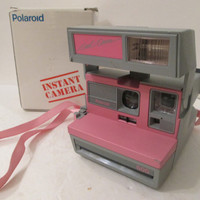 TTested Polaroid Cool Cam Camera Pink Polaroid Cool Cam 600 Film like one step