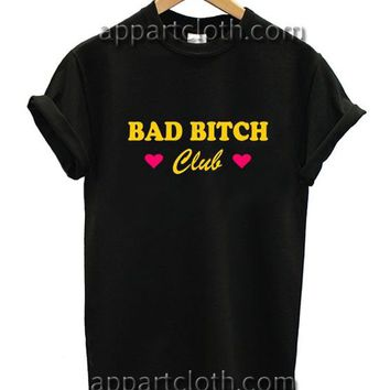 Bad Bitch Club Funny Shirts, Funny America Shirts