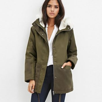 Thicken Cotton Women's Fashion Padded Coat Jacket [26834206727]
