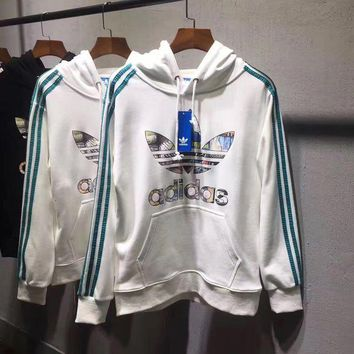 ADIDAS Woman Men Fashion Sport Hoodie Top Sweater Pullover