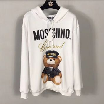''MOSCHINO'' Women Hot Hoodie Cute Sweater