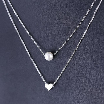 unique casual simple style necklace womens necklace gift 59