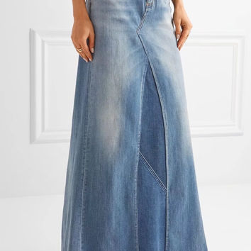 Bonia Denim Maxi Skirt