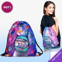 Online Shop Backpack print SPACE CAT|Aliexpress Mobile