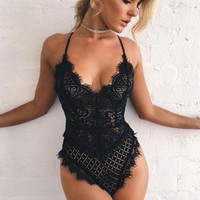 Hot Deal On Sale Cute Sexy Uniform Lace Set Exotic Lingerie