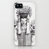 Love Is My Weapon iPhone Case by Krista Rae | Society6