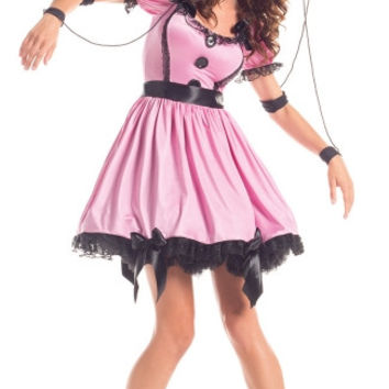 Pink Marionette Doll Costume