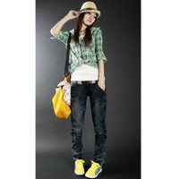Hot Sale Casual Style Tight Leg Opening Baggy Jeans China Wholesale - Sammydress.com