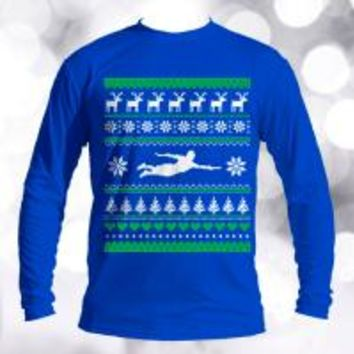 Ultimate Frisbee Ugly Christmas Sweater | Disc Store