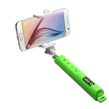 Bluetooth Fold Stick 5 Color Self-portrait Monopod With Zoom For Smartphone