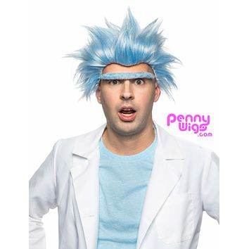 Rick Sanchez -Eyebrow and Wig Set