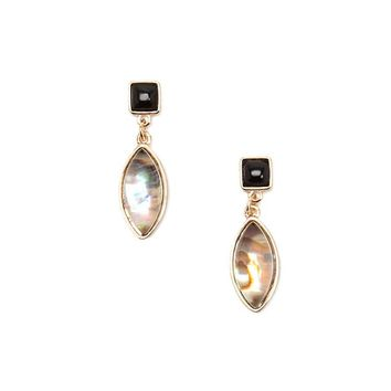 Iridescent Gem Drop Earrings
