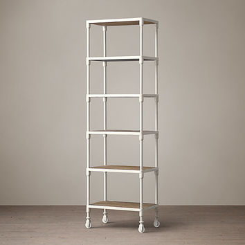 Dutch Industrial Narrow Shelving