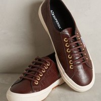 Superga Leather Lace-Up Sneakers