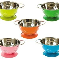 Present Time Mini Stars Colander, Color May Vary, Sold Individually