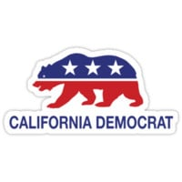 California Democrat Bear