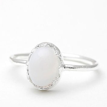 moonstone, moonstone ring, stone ring, moon stone jewelry, woman ring, bridesmaid ring