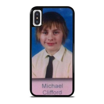 5SOS MICHAEL CLIFFORD iPhone X Case Cover