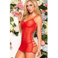 Cute Hot Deal On Sale Transparent Lace Sexy Spaghetti Strap Exotic Lingerie [6595647043]