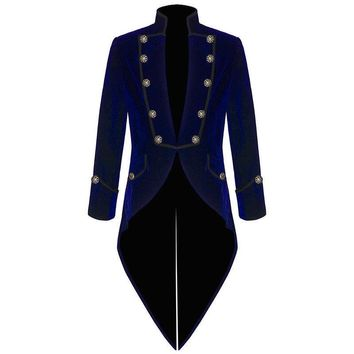 Latest Coat Pant Designs Royal Blue Velvet Men Suit Slim Fit Smoking Tailcoat Jacket Tuxedo Custom Groom Blazer Prom Suits Terno