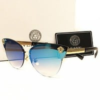 Versace Women Casual Popular Summer Sun Shades Eyeglasses Glasses Sunglasses