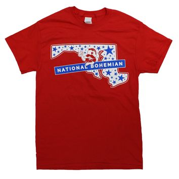 National Bohemian Maryland State Stars (Red) / Shirt