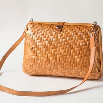 Woven Straw Box Handbag for Women Vintage. Tan Rattan Purse Bag. Summer Shoulder Bag Straw. Handmade Bag Small Boho bag. Festival Bag retro