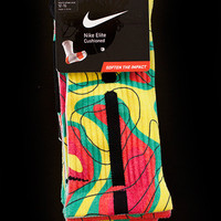 Thesockgame.com — KD Weatherman - Custom Nike Elite Socks - Inspired by Nike KD4 shoe
