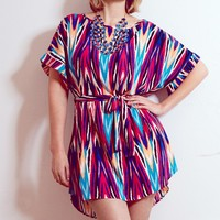 Plus Size Virginia Zig-Zag Tunic | Fashion To Figure