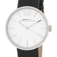 Women's Peggy Leather Strap Watch