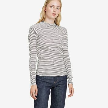 Embla High Cotton Rib Ecru