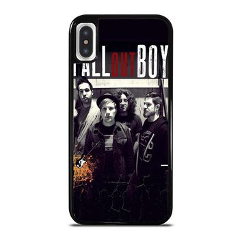 FALL OUT BOY PERSONIL iPhone X / XS case