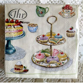 20 Count Time For Sweets Cocktail Napkins - Limited Supply