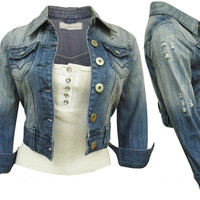 Fashion Women Denim Jacket, Women Jean Jacket, Denim Jackets for Women