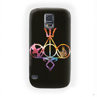 All Logo Mortal Instruments Hunger Games Divergent Percy Jackson Harry Potter For Samsung Galaxy S5 Case